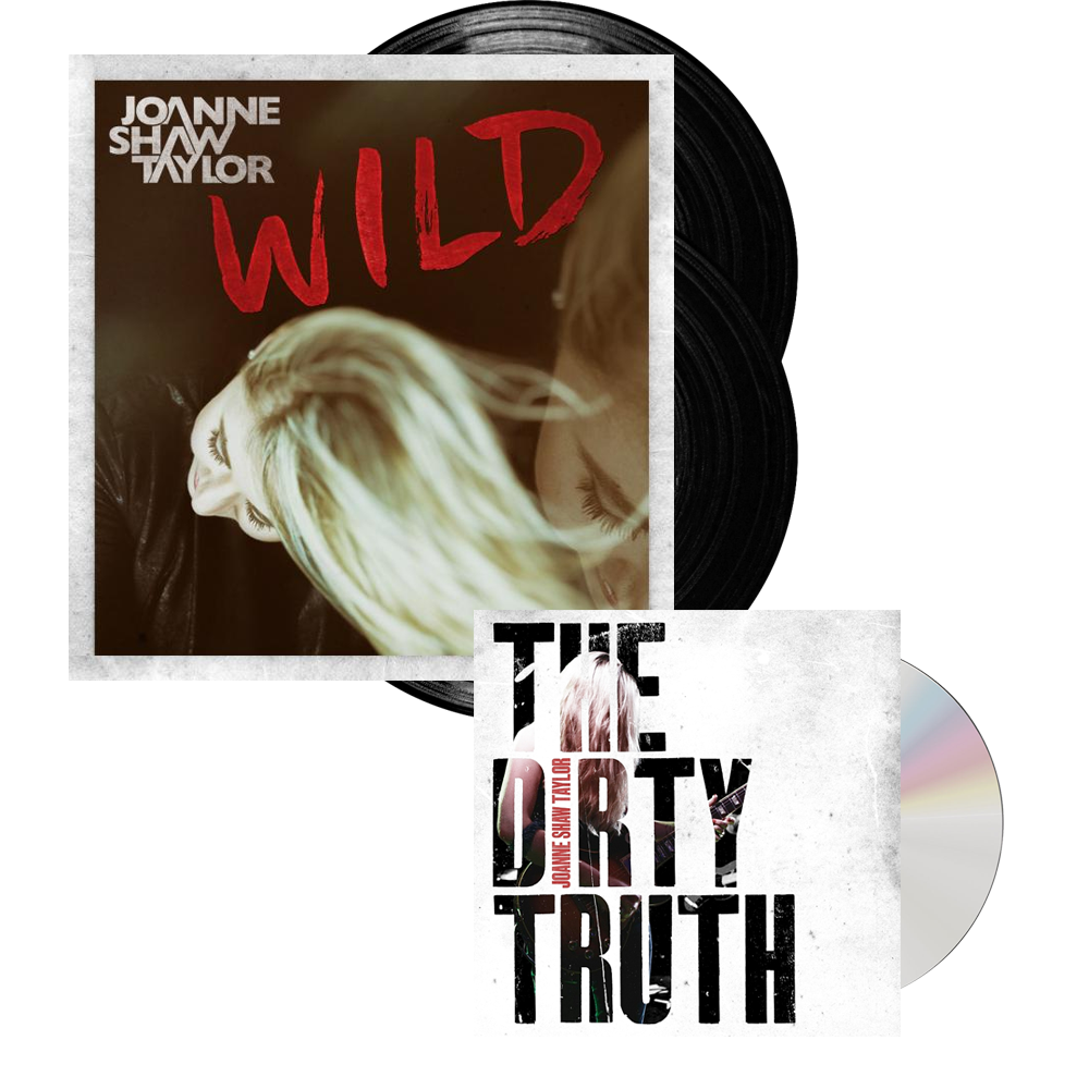 Buy Online Joanne Shaw Taylor - Wild Deluxe Vinyl - Dirty Truth CD