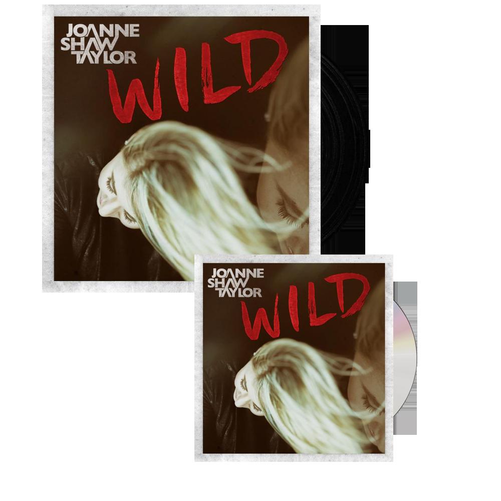 Buy Online Joanne Shaw Taylor - Wild Single Vinyl - Wild CD