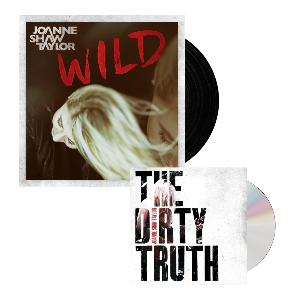 Buy Online Joanne Shaw Taylor - Wild Single Vinyl - The Dirty Truth CD