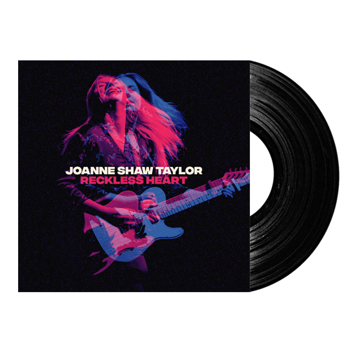 Buy Online Joanne Shaw Taylor - Reckless Heart - Signed Double 12