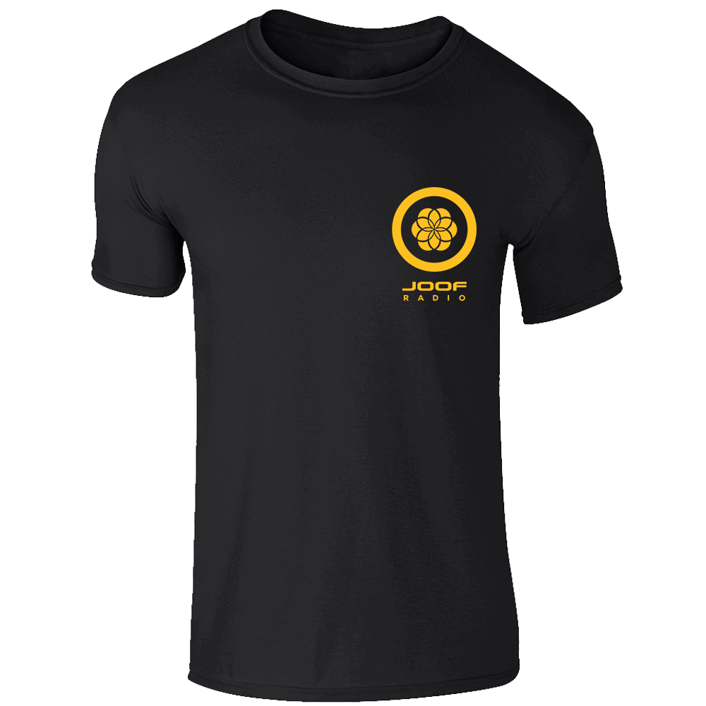 Buy Online John 00 Fleming - Radio Tee - Yellow/Black