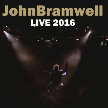 Buy Online John Bramwell - Live 2016 (Signed)