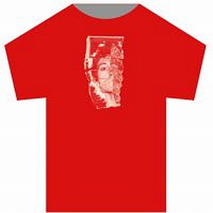 Buy Online John Foxx - I Want To Be A Machine: Red t-shirt