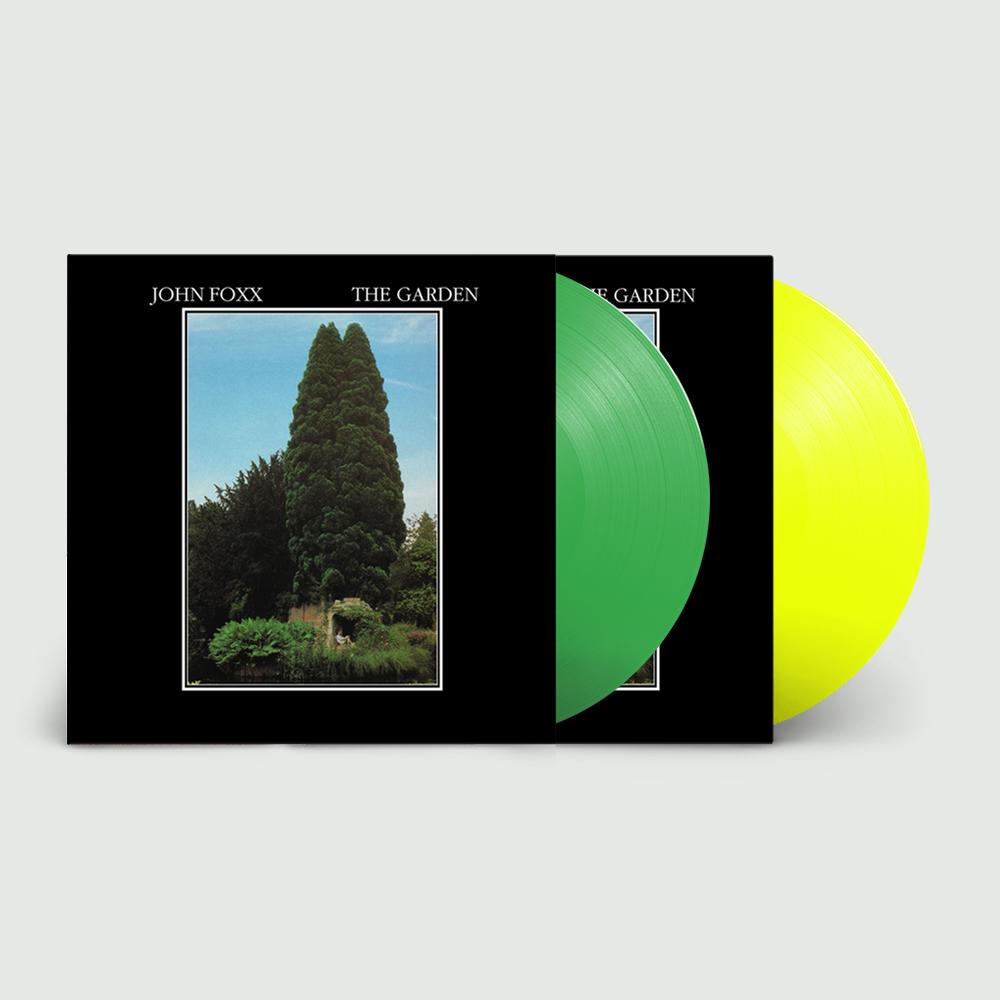 Buy Online John Foxx - The Garden Green Vinyl + Neon Yellow Vinyl (Limited)