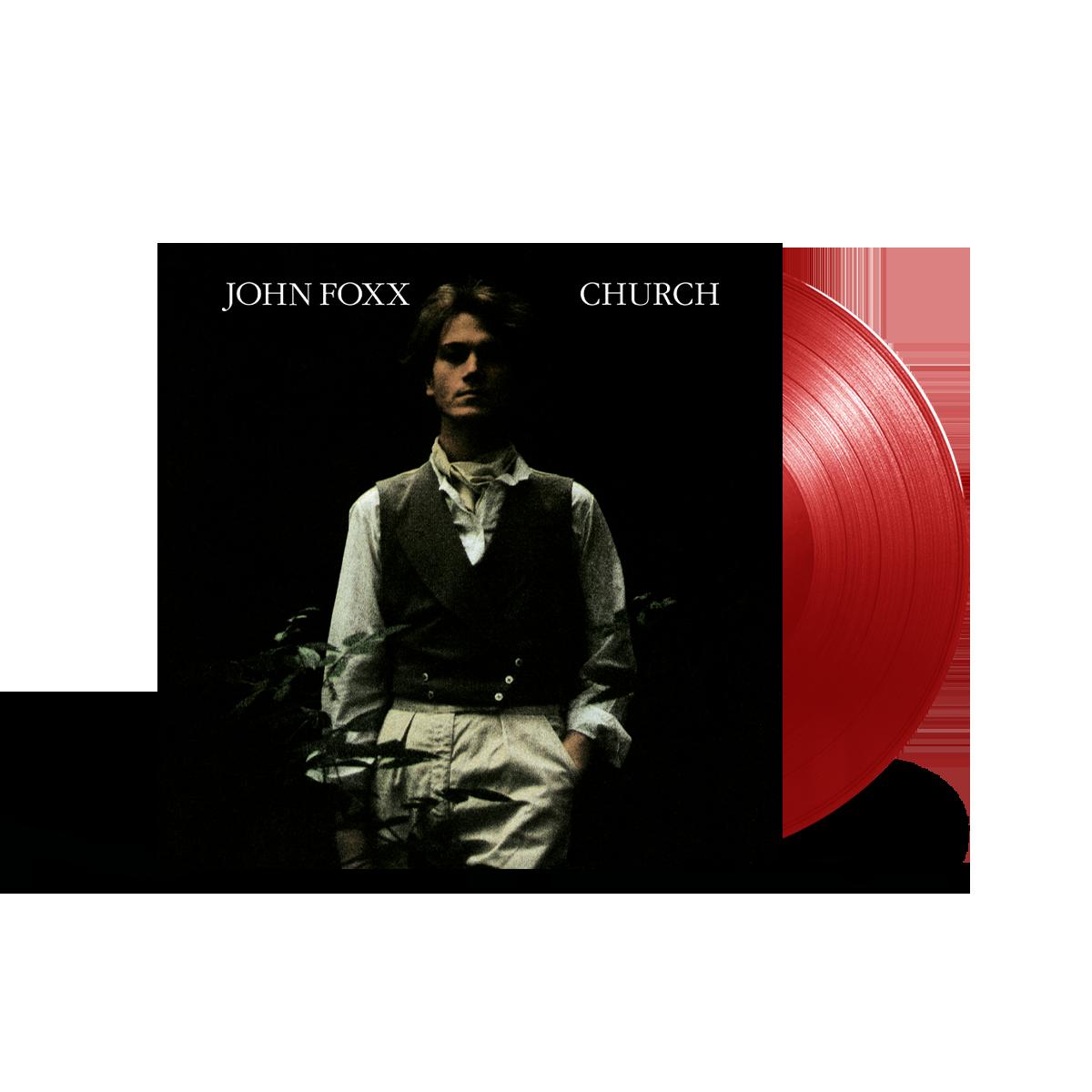 Buy Online John Foxx - Church Ltd Edition Transparent Red Vinyl