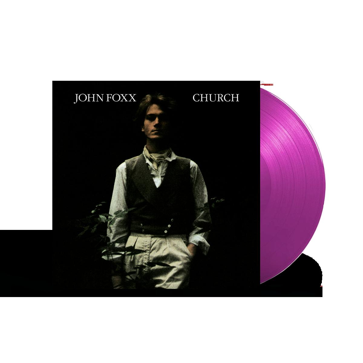 Buy Online John Foxx - Church Ltd Edition Neon Violet Vinyl