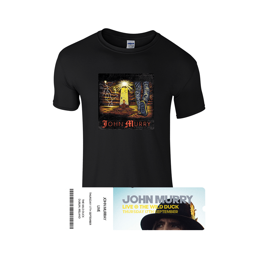 Buy Online John Murry - T-Shirt + Ticket Bundle