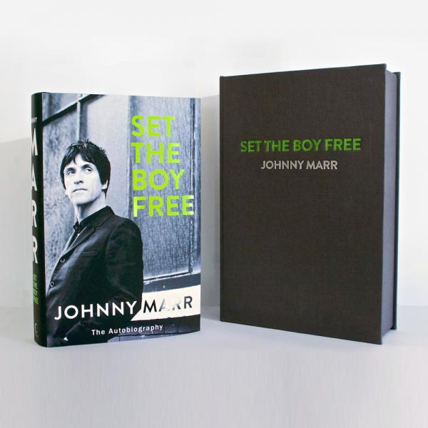 Buy Online Johnny Marr - Set The Boy Free - Special Edition (Signed, Limited)