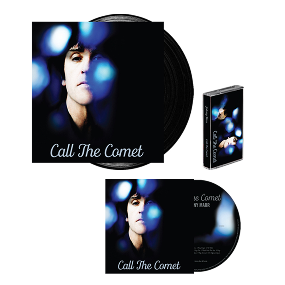 Buy Online Johnny Marr - Call The Comet CD, Vinyl +Cassette
