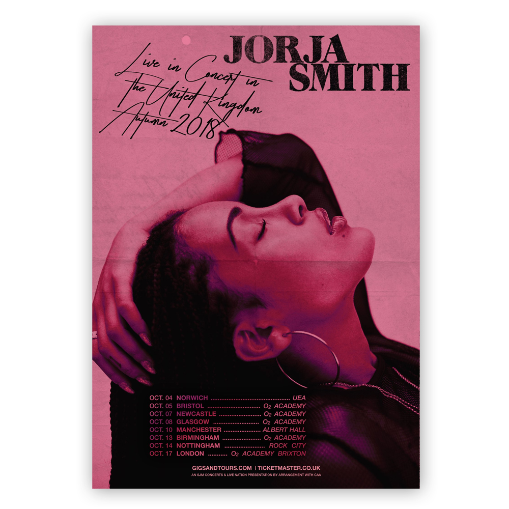 October 2018 UK Tour Ticket