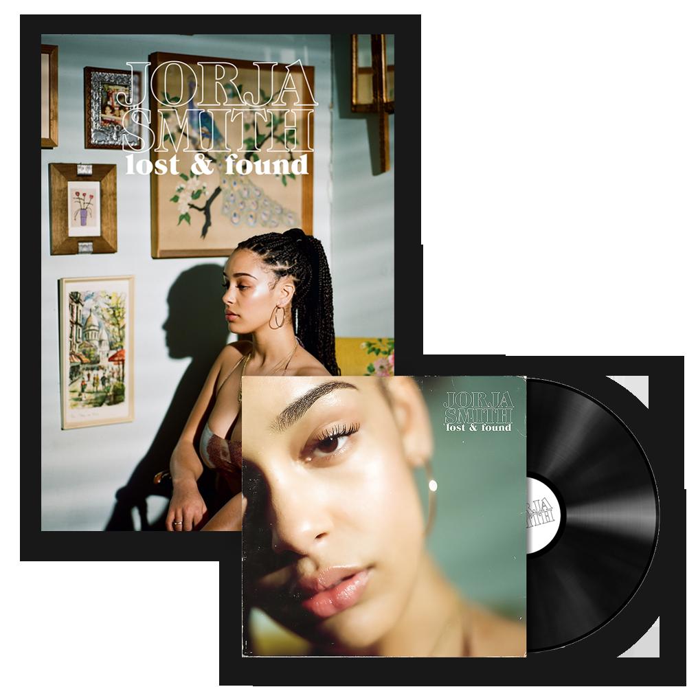Buy Online Jorja - Lost & Found Vinyl LP + Poster
