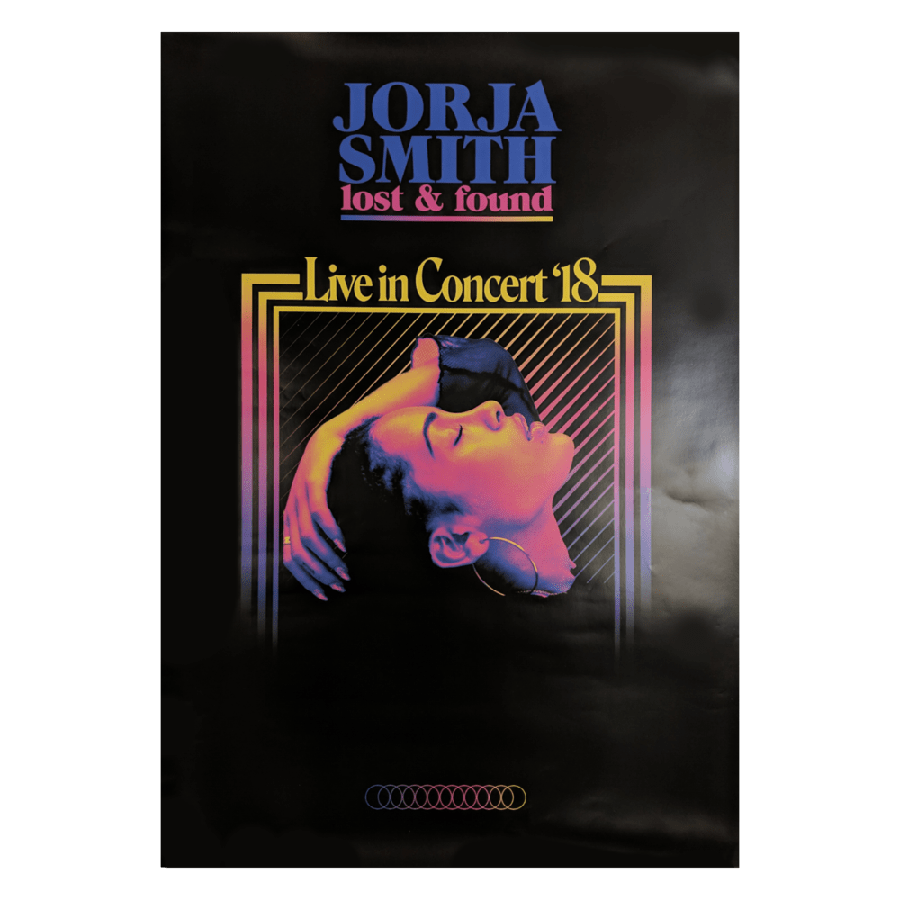 Buy Online Jorja Smith - Live In Concert '18 Tour A2 Poster