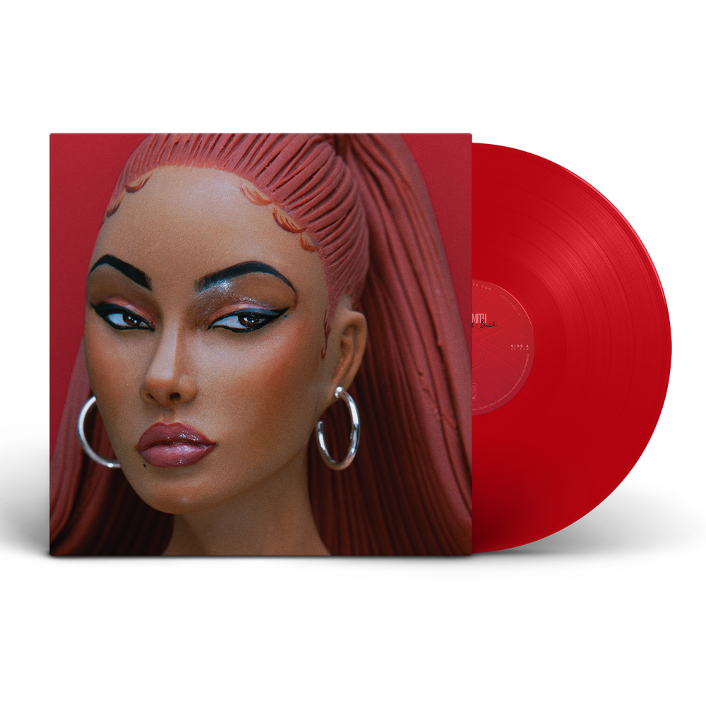 Buy Online Jorja Smith - Be Right Back Transparent Red Vinyl
