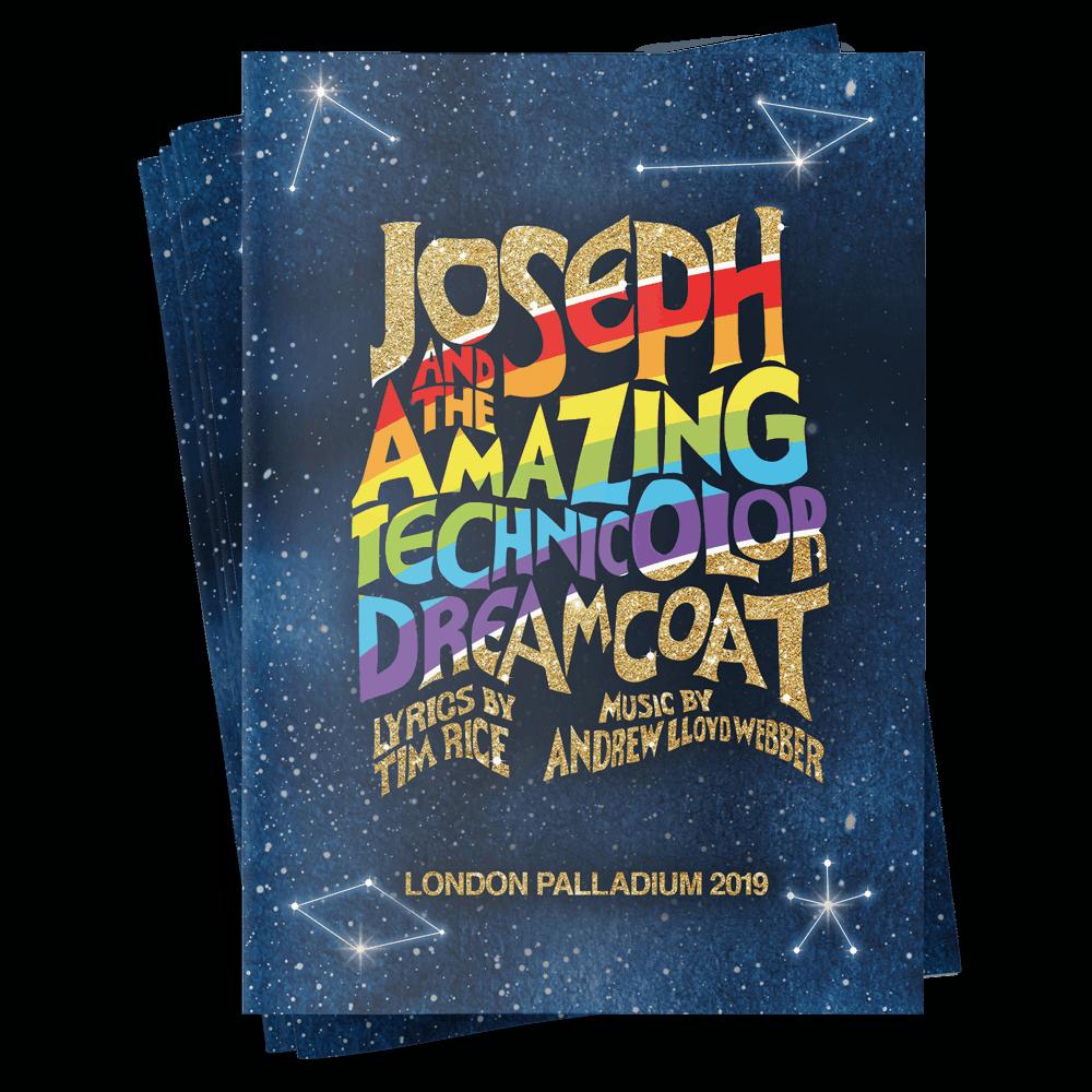 Buy Online Joseph The Musical -  Souvenir Brochure