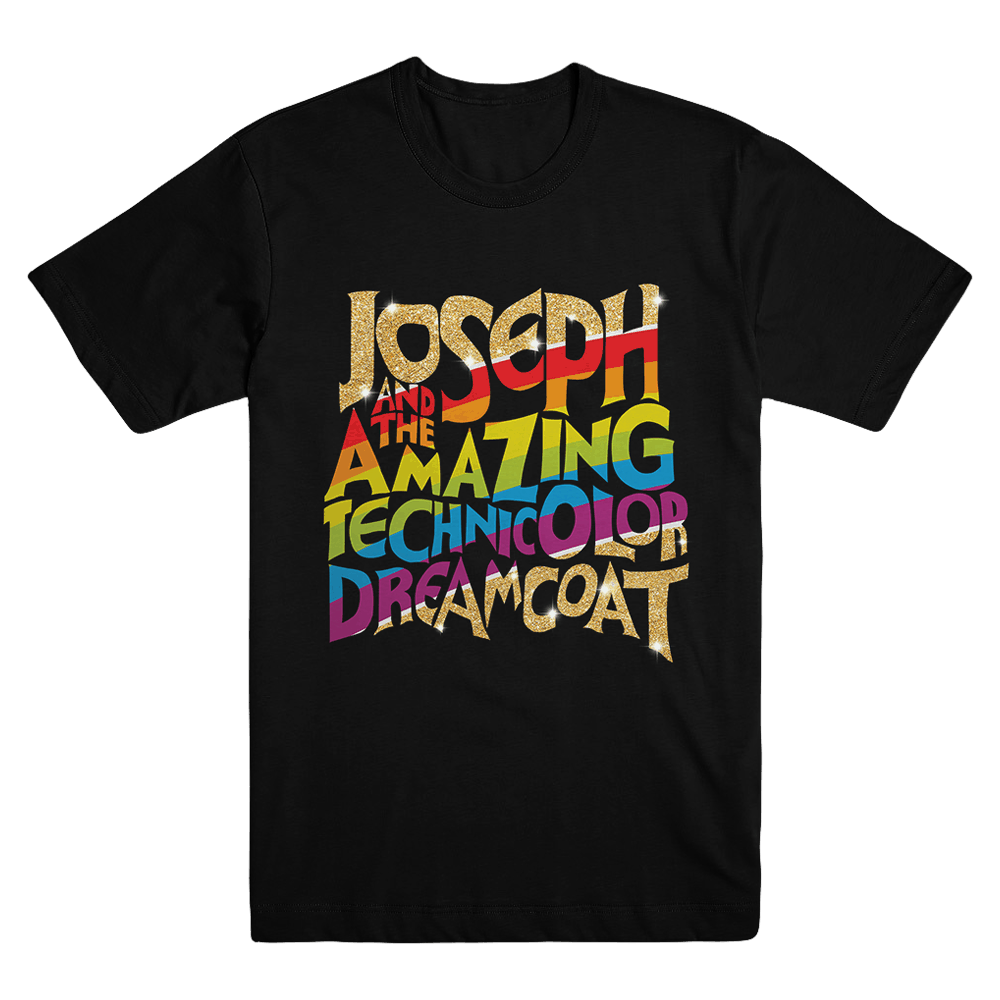 Buy Online Joseph The Musical - Unisex Logo T-Shirt