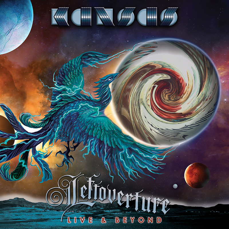 Buy Online Kansas - Leftoverture Live & Beyond - Limited Deluxe Black Vinyl 4LP + 2CD