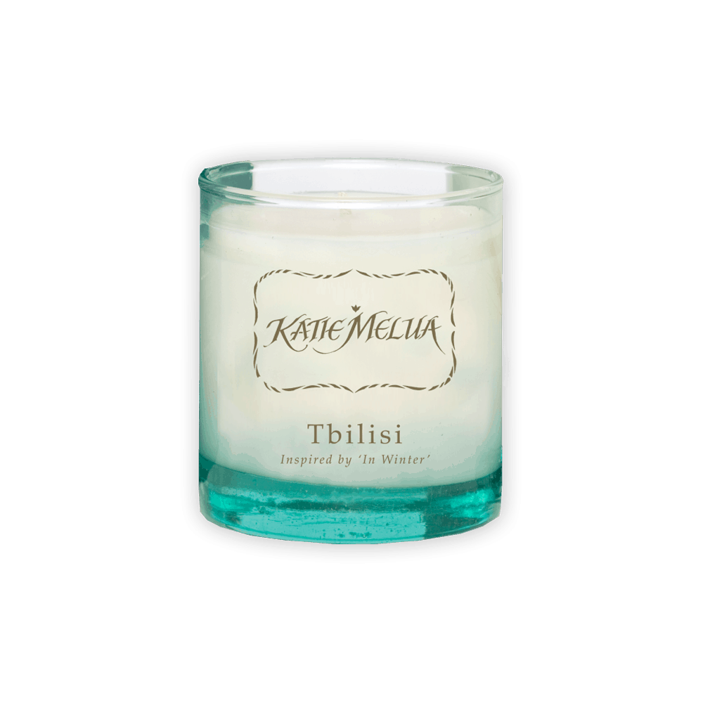Buy Online Katie Melua - Exclusive Katie Melua Tbilisi 'In Winter' Small Style Candle