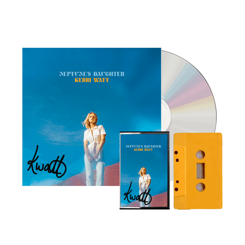 Buy Online Kerri Watt - Neptune's Daughter - Physical Bundle (Ltd Signed CD and Ltd Signed Cassette)
