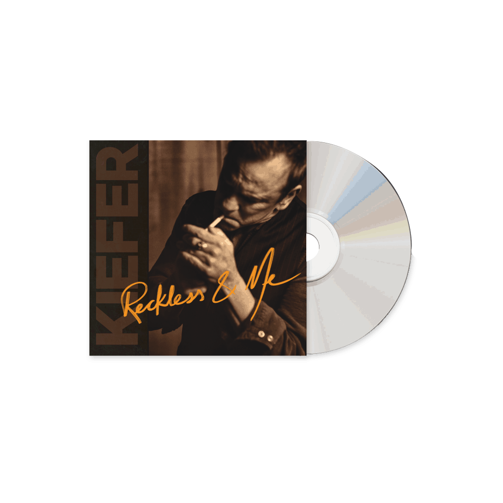 Buy Online Kiefer Sutherland - Reckless & Me CD Album (INCLUDES SIGNED PHOTOGRAPH)