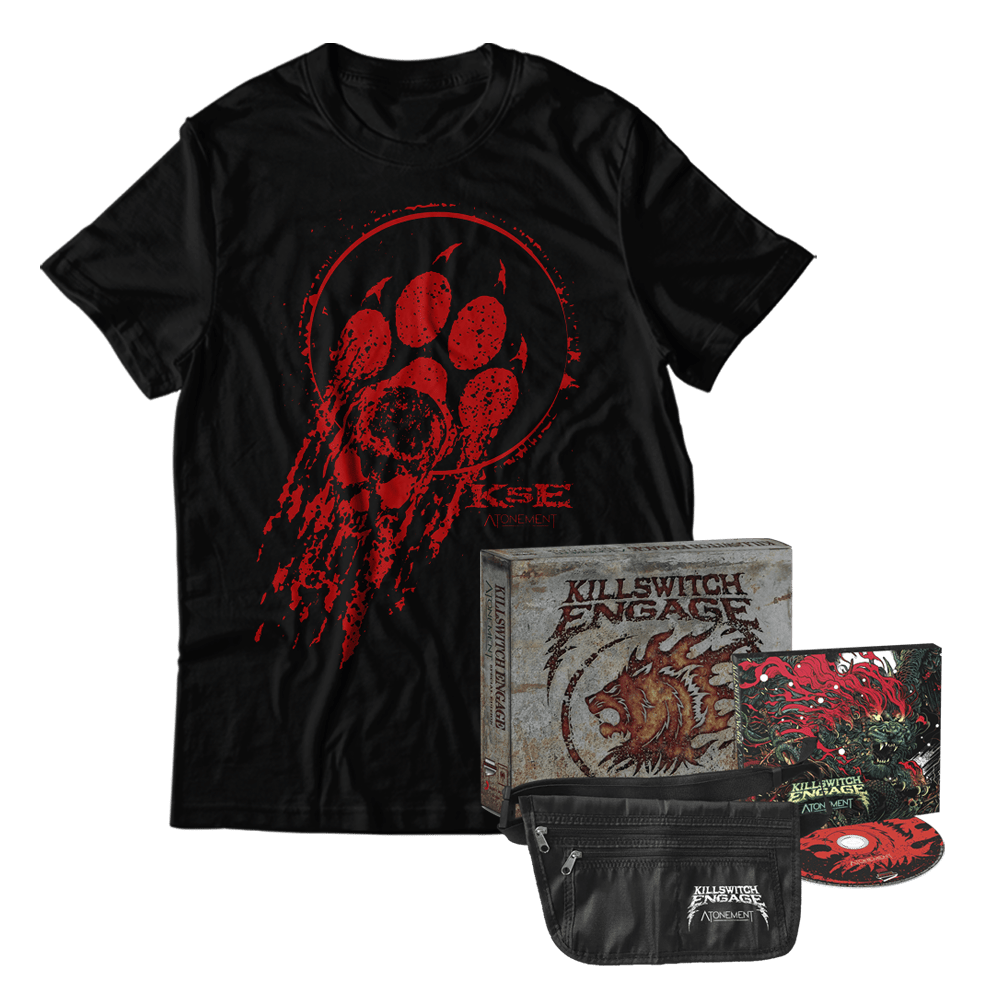 Buy Online Killswitch Engage - Atonement Deluxe Edition + Bloody Paw T-Shirt