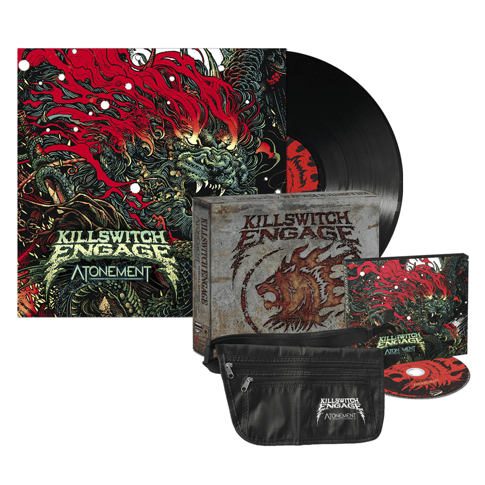 Buy Online Killswitch Engage - Atonement Deluxe Edition + Vinyl