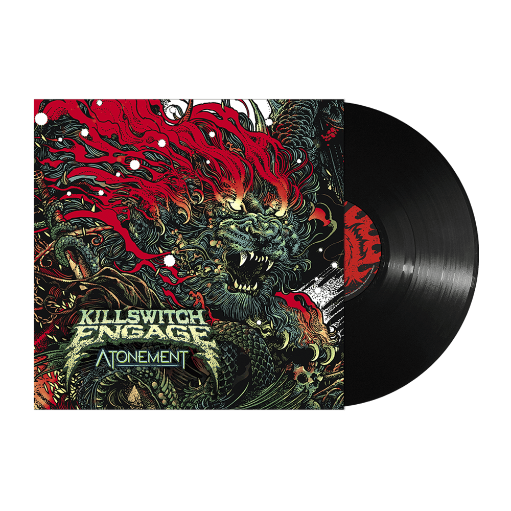 Buy Online Killswitch Engage - Atonement + A4 Print (Signed)
