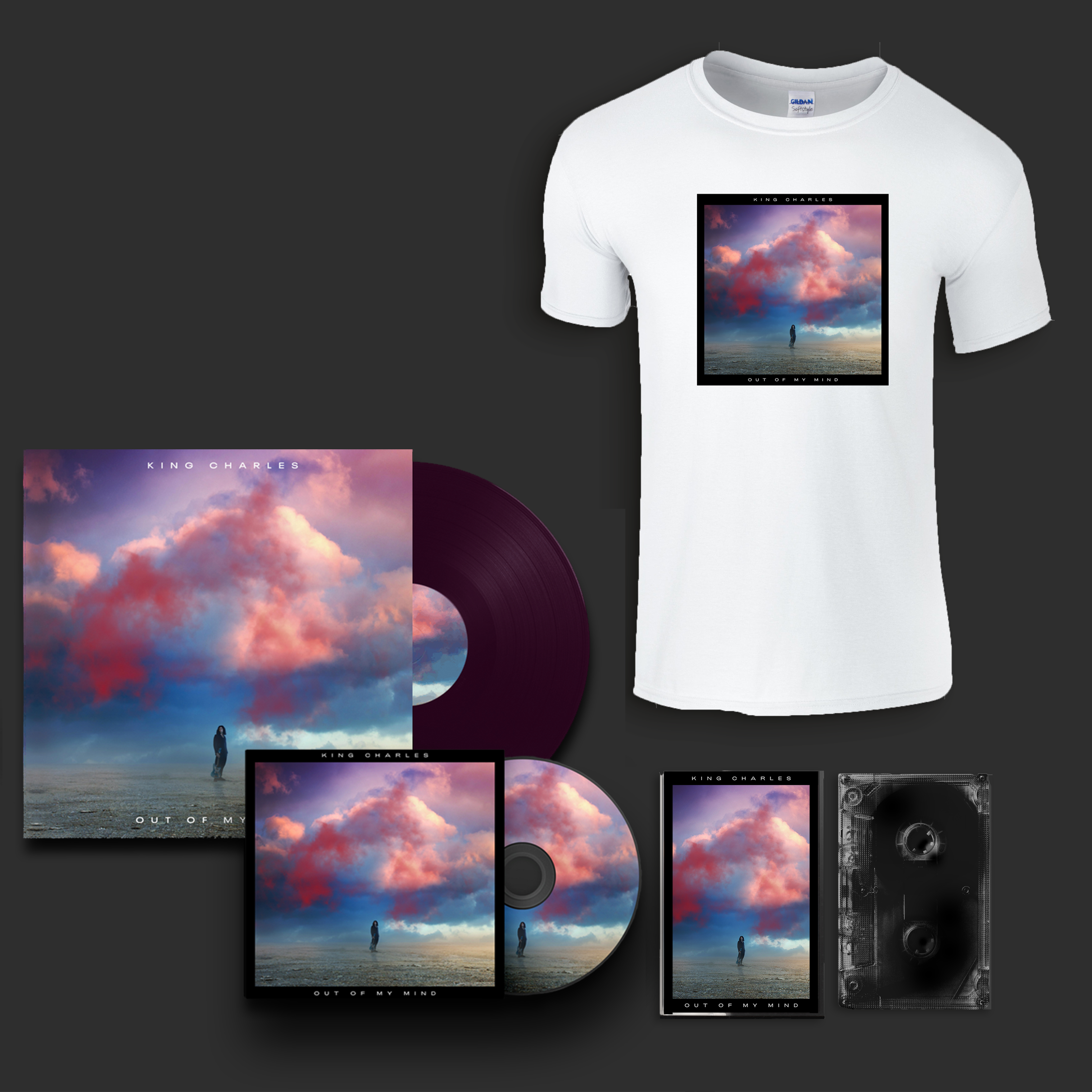Buy Online King Charles - Out Of My Mind Album + T-Shirt Bundle