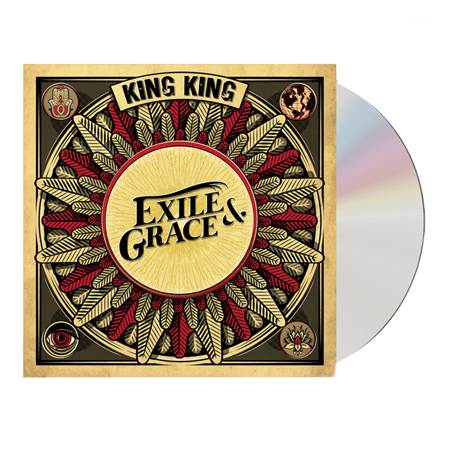 Buy Online King King - Exile & Grace CD (Signed)