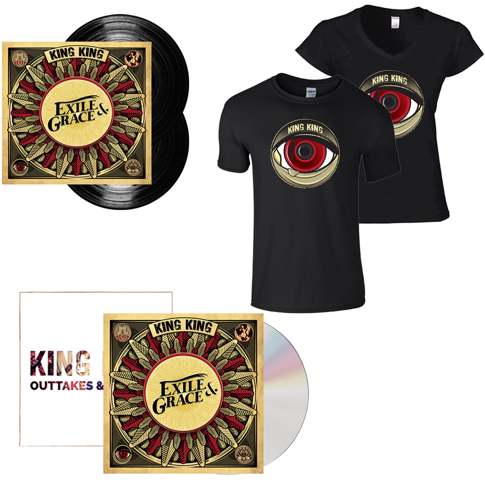 Buy Online King King - Exile & Grace - Super Deluxe Bundle (w/ Outtakes & Rarities CD EP)