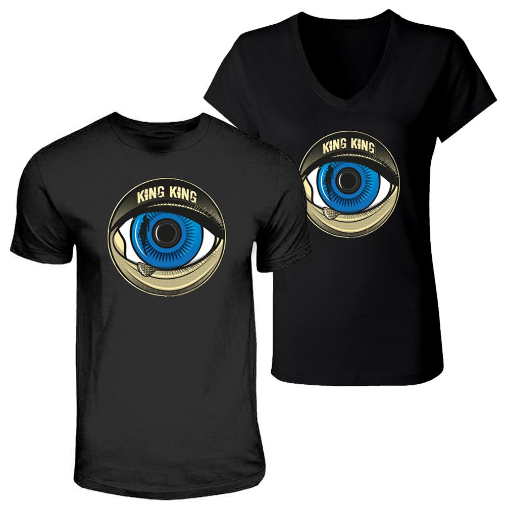 Buy Online King King - Blue Eye Black T-shirt