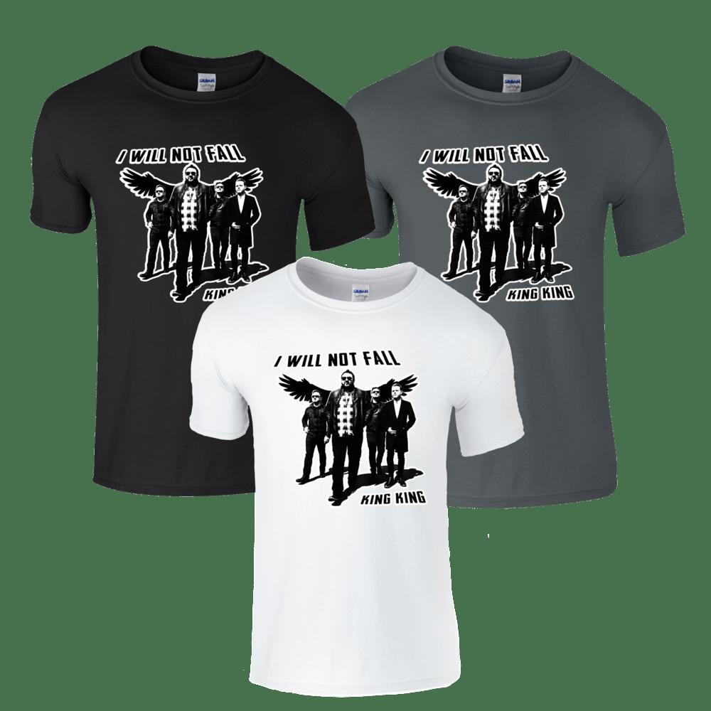 Buy Online King King - I Will Not Fall T-Shirt