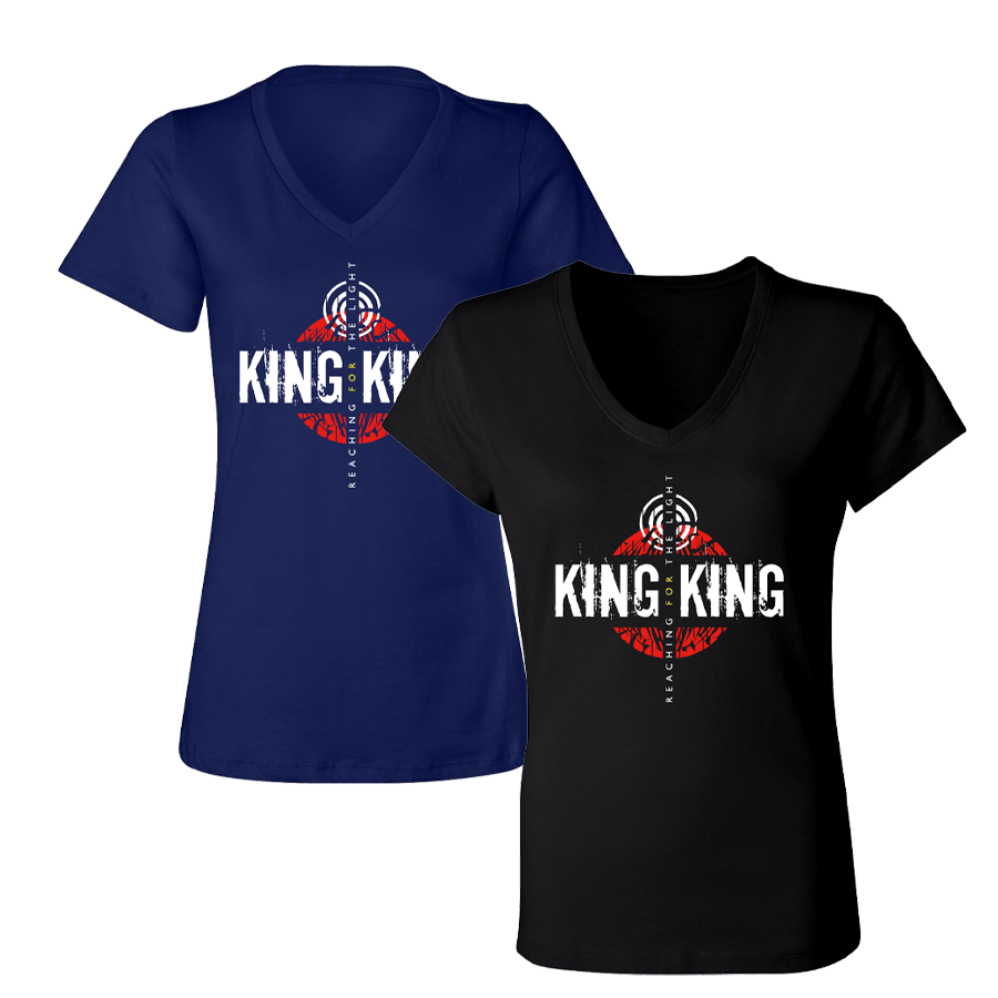 Buy Online King King - Reaching For The Light T-Shirt Ladies