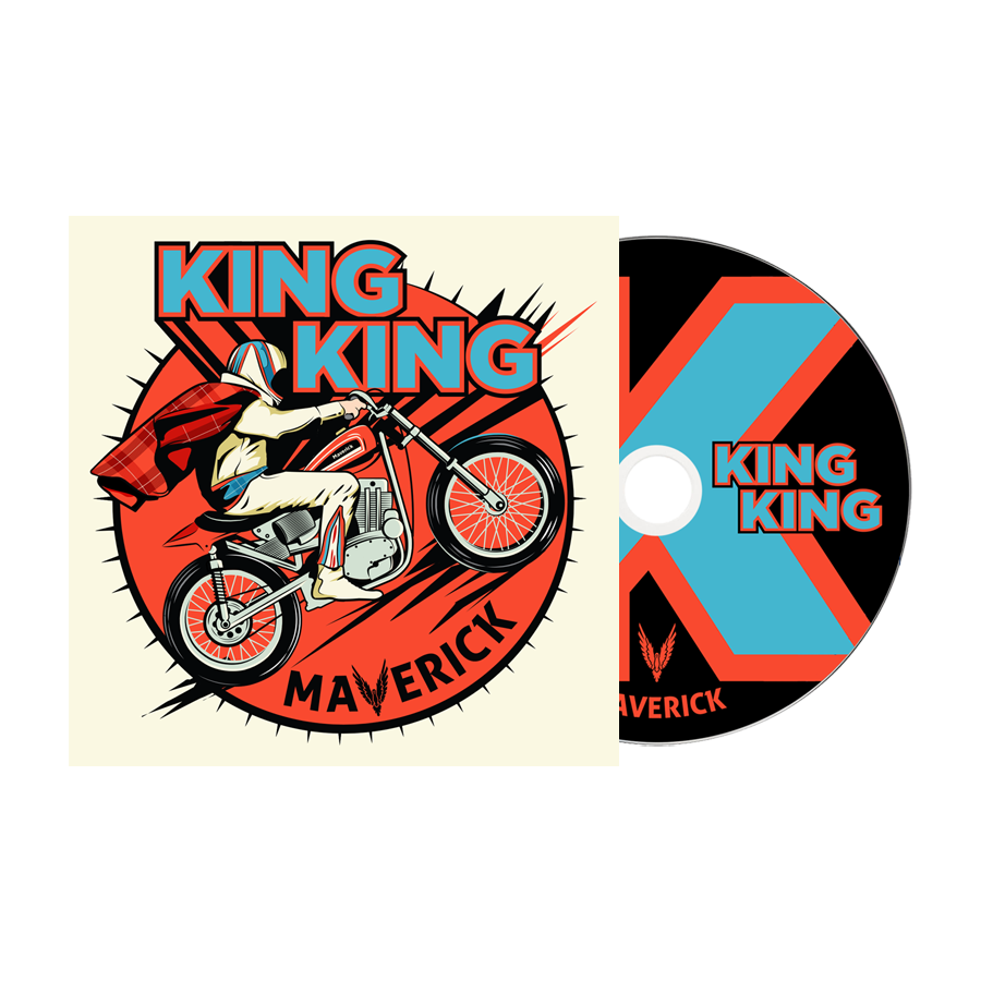 Buy Online King King - Maverick Signed (Inc. Bonus CD)