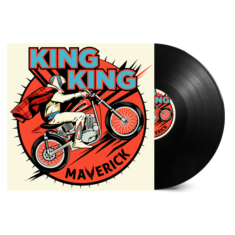 Buy Online King King - Maverick Signed (Inc. 2 Beer Mats)