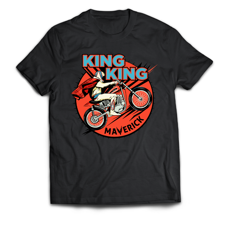 Buy Online King King - Maverick T-Shirt