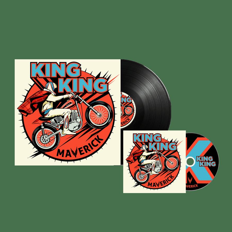 Buy Online King King - Maverick CD (Inc. Bonus Live CD) + Vinyl
