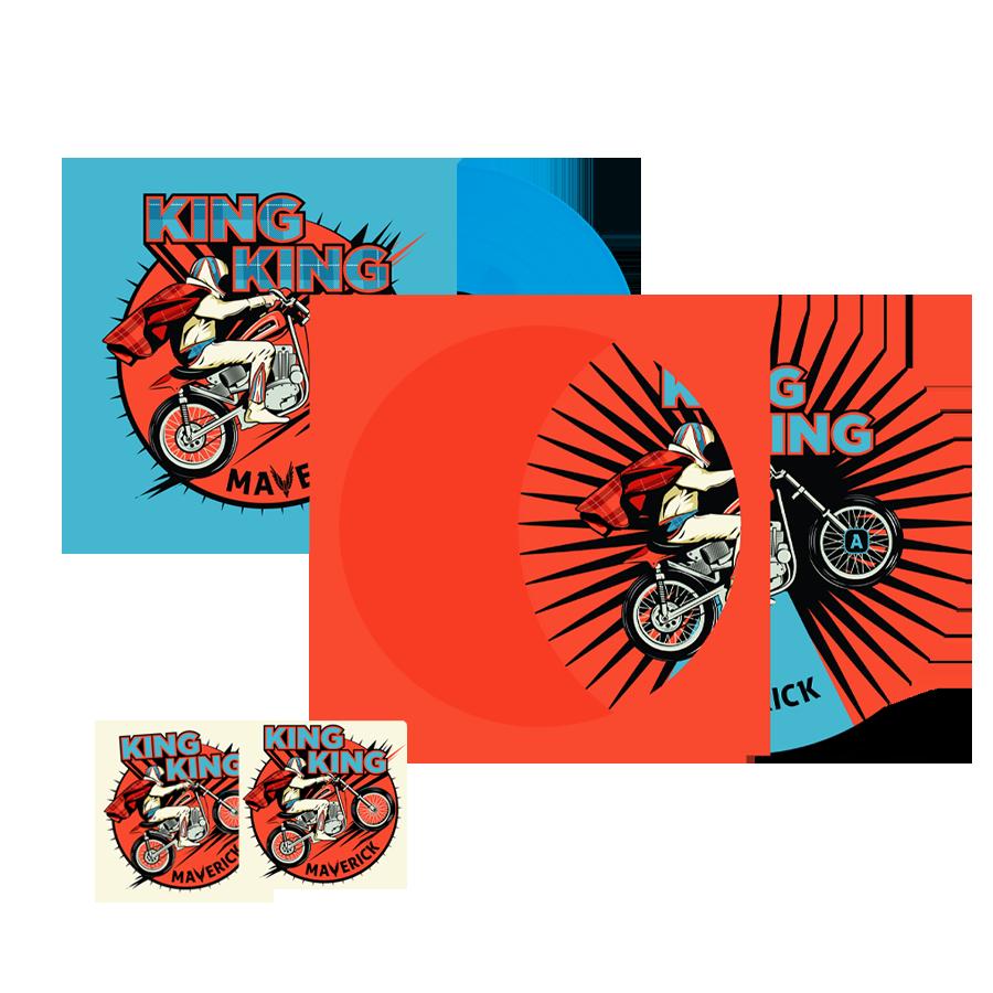 Buy Online King King - Maverick Picture Disc + Coloured Vinyl (Inc. 2 Beer Mats)