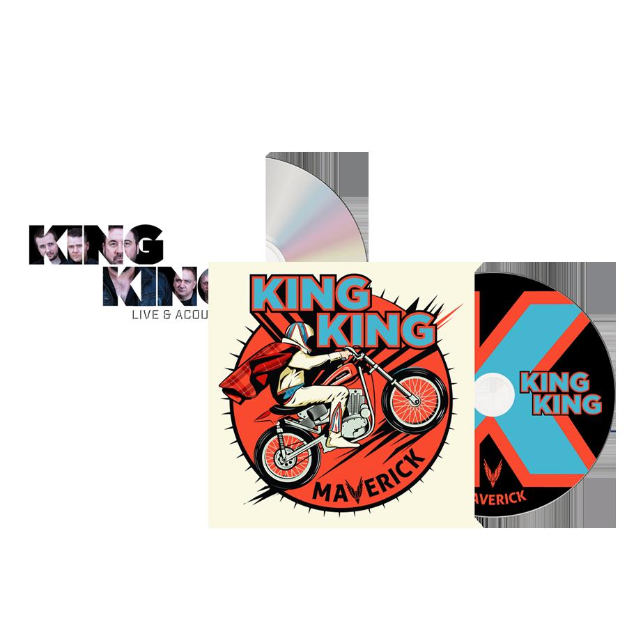 Buy Online King King - Maverick CD + Live & Acoustic Bonus CD
