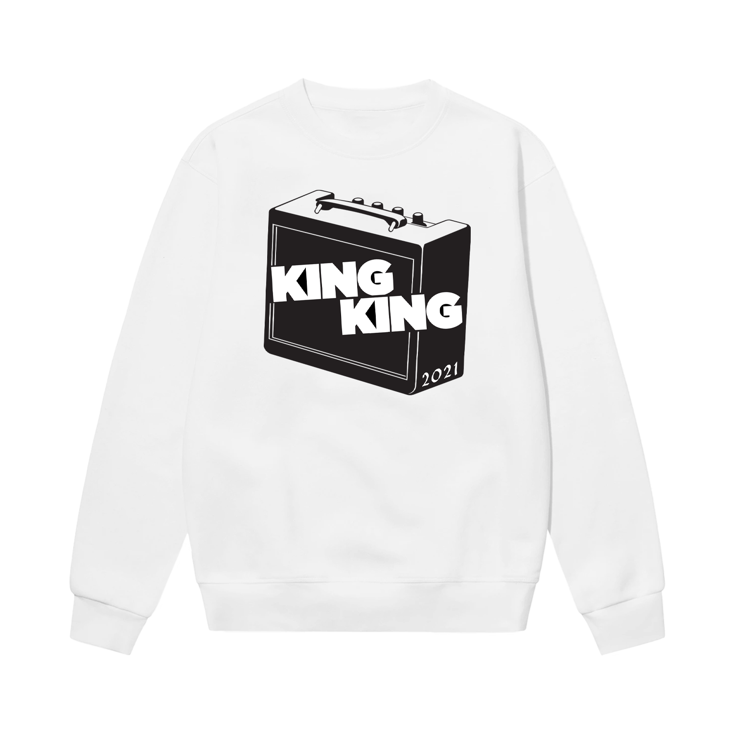 Buy Online King King - Sweatshirt (White)