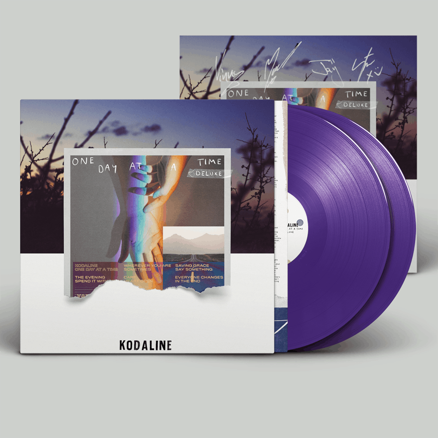 Buy Online Kodaline - 'One Day At A Time' Purple (Inc. Signed Art Print)