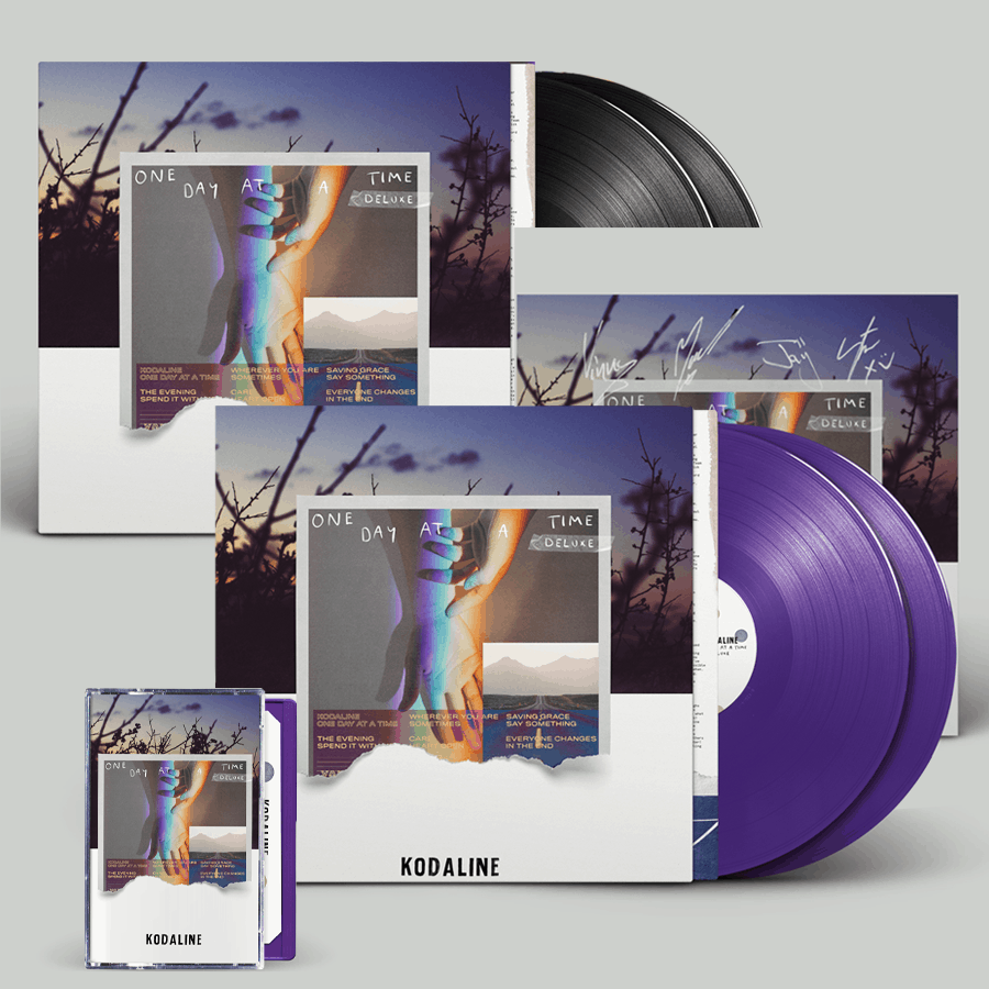 Buy Online Kodaline - 'One Day At A Time' Deluxe Bundle