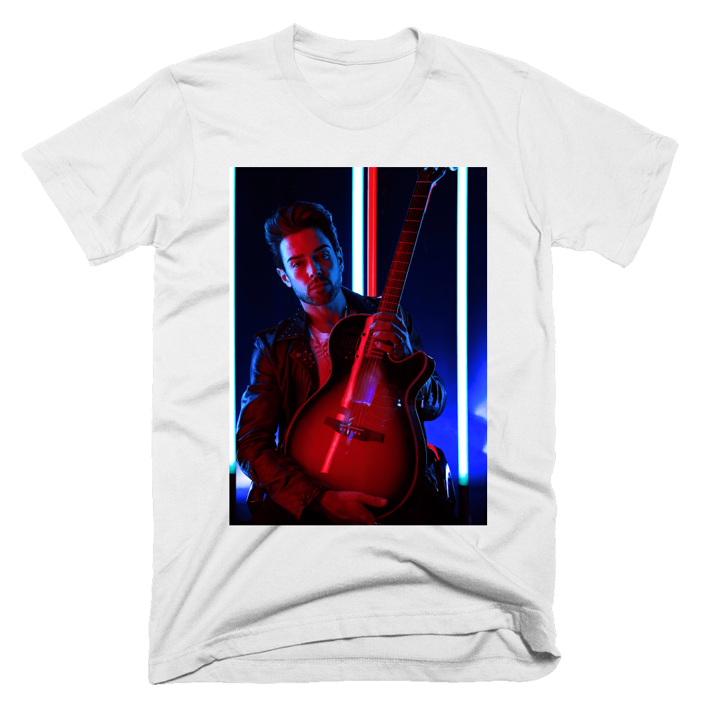 Buy Online Kris James - White T-Shirt
