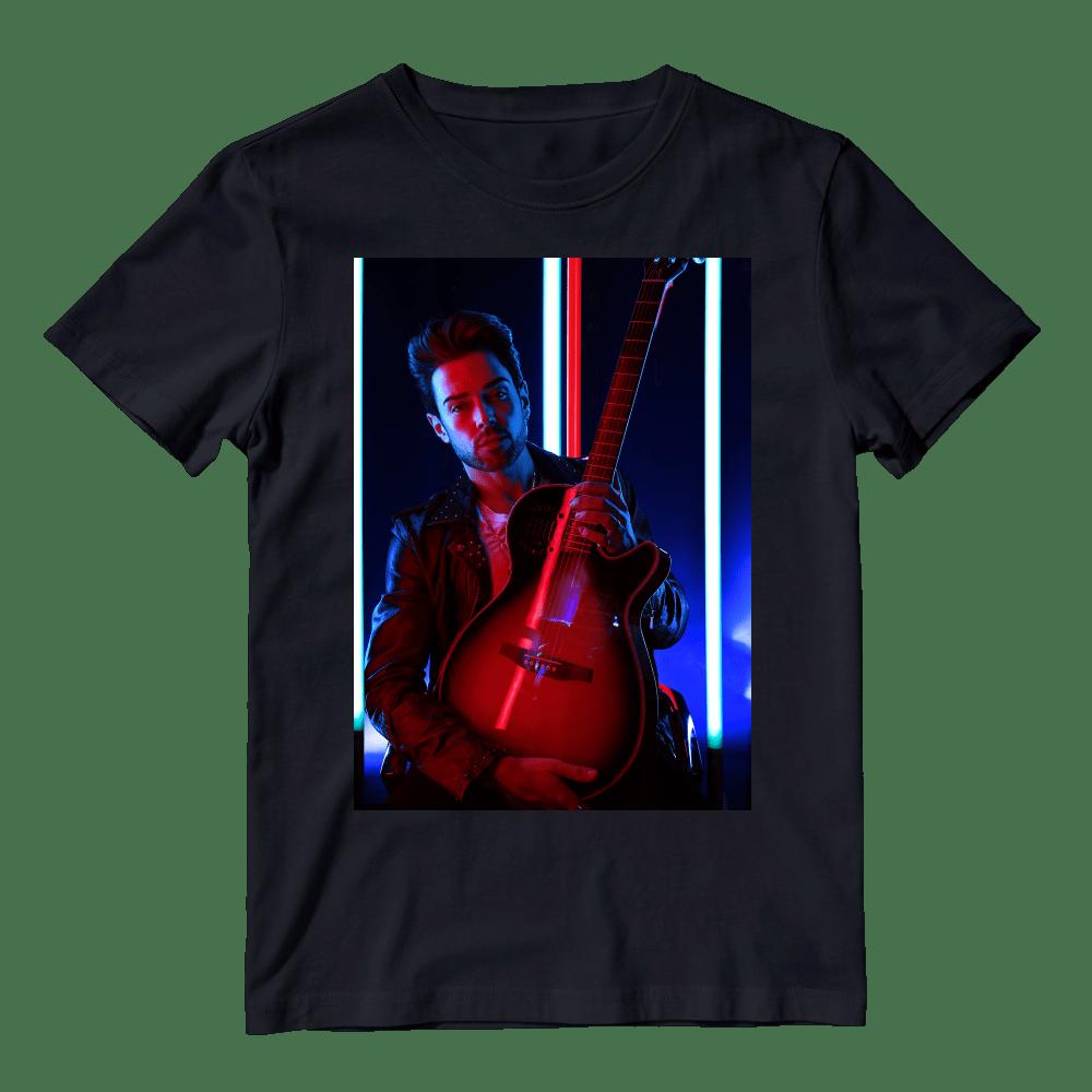 Buy Online Kris James - Black T-Shirt