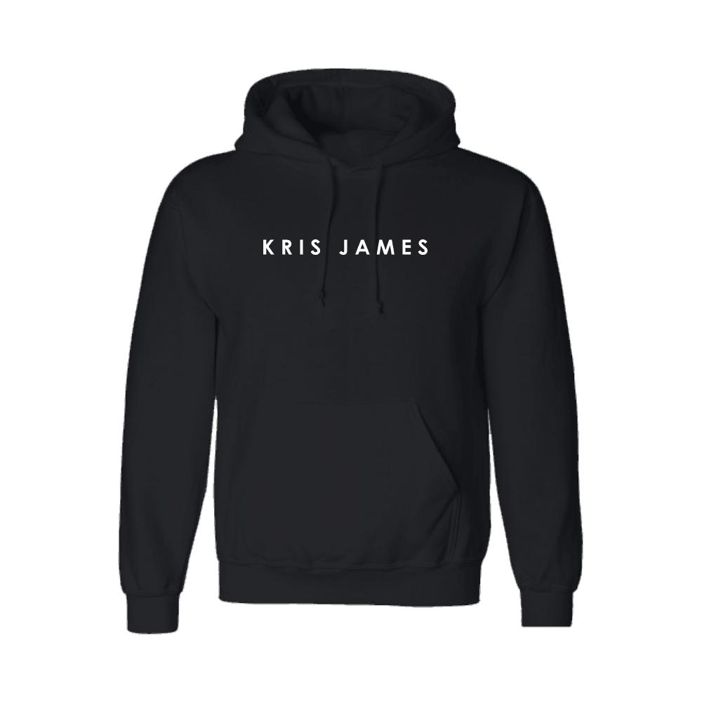 Buy Online Kris James - Black Logo Hoodie