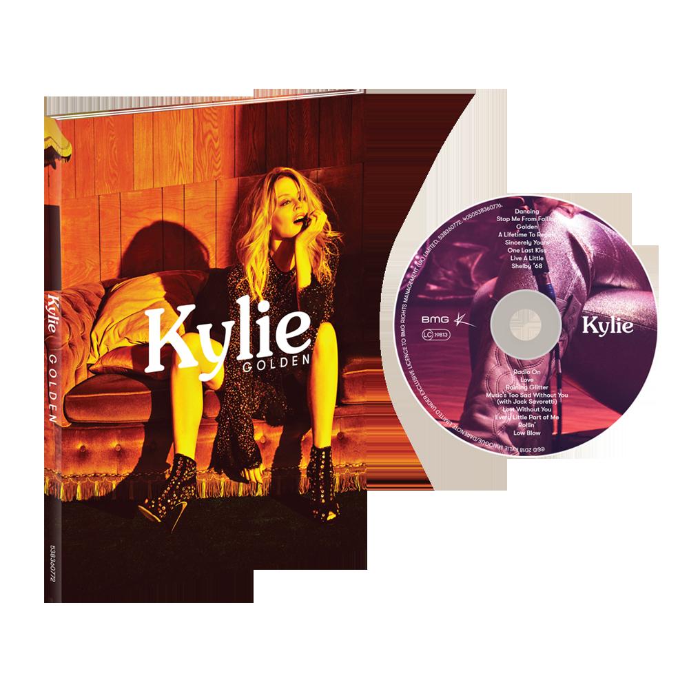 Buy Online Kylie - Golden Deluxe CD Album