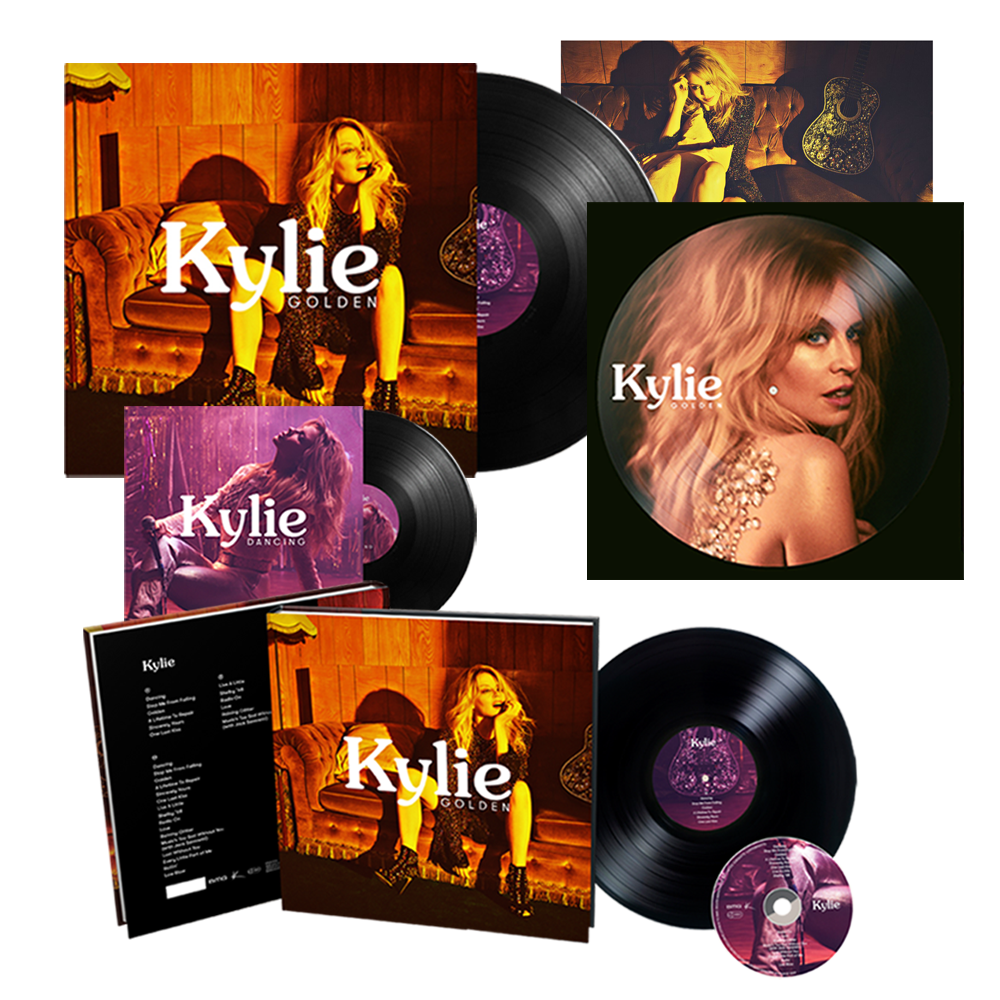 Buy Online Kylie - Golden Super Deluxe Bundle (w/ Exclusive Photograph)