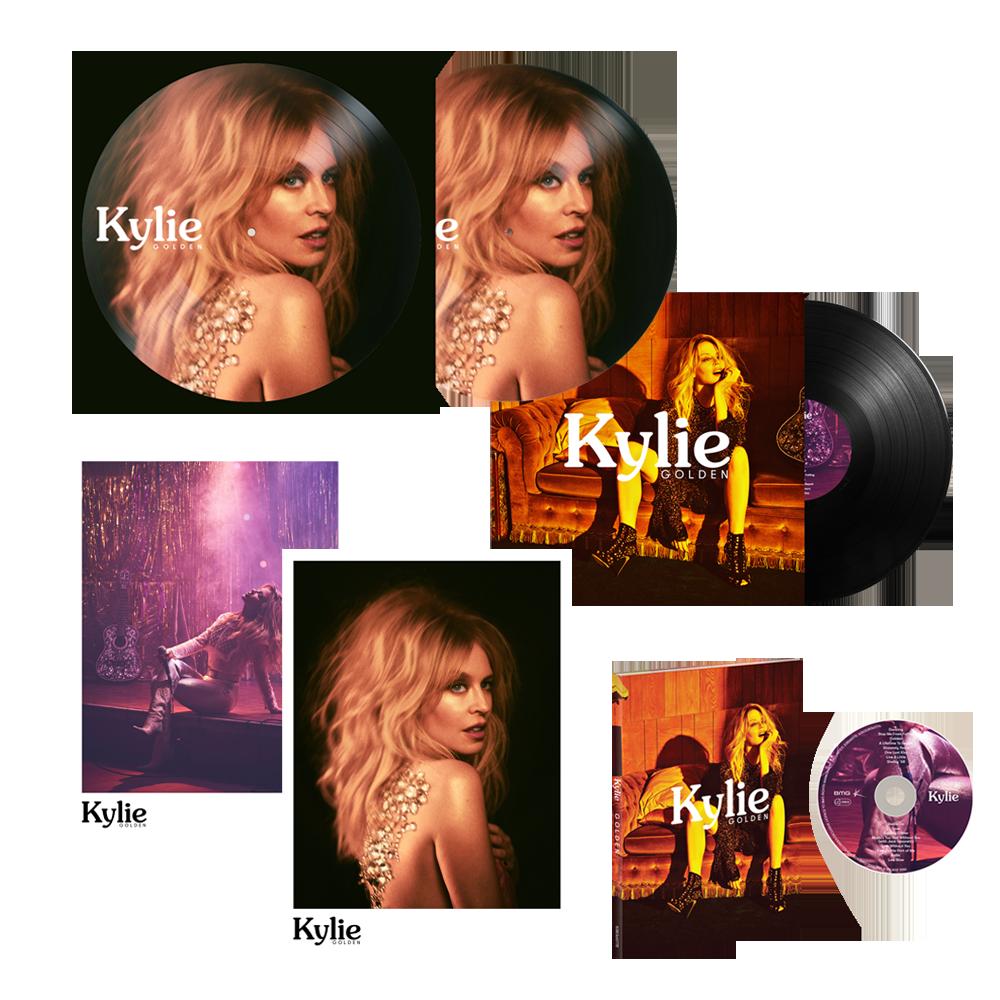 Buy Online Kylie - Golden Deluxe Bundle