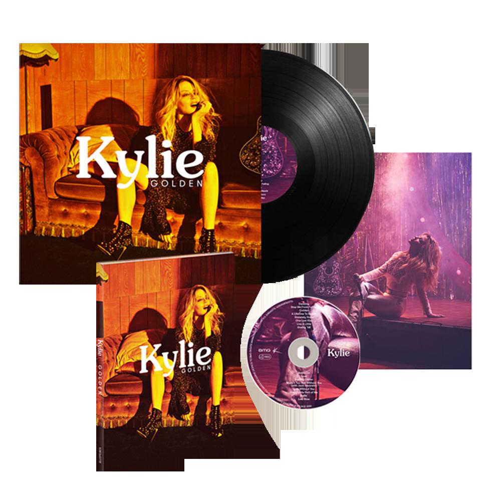 Buy Online Kylie - Golden Album Bundle