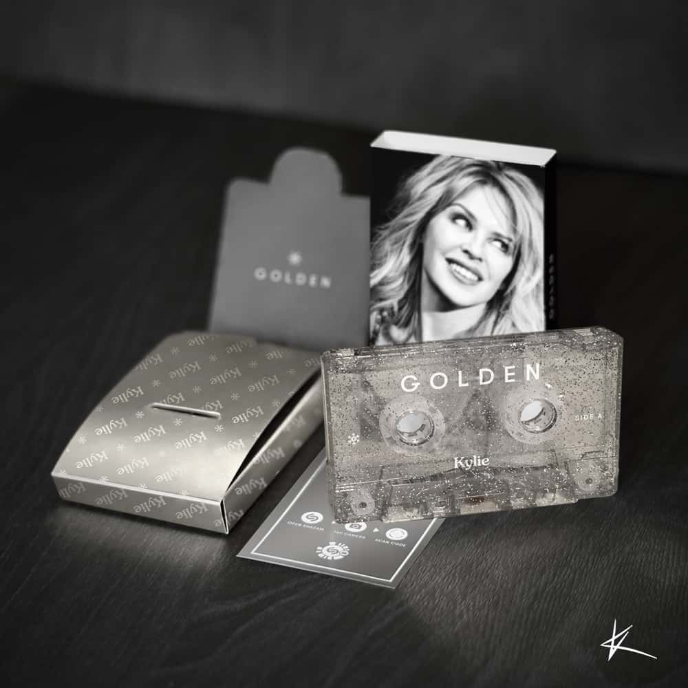 Buy Online Kylie - Golden Cassette (Christmas Collector's Edition)