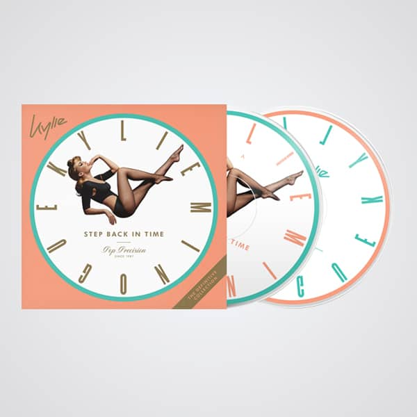Buy Online Kylie - Step Back In Time Picture Disc